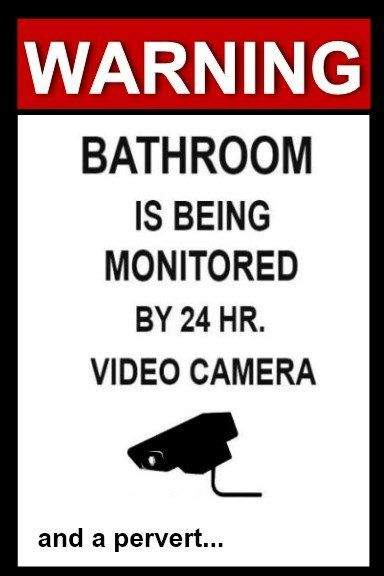 Bathroom Sign Prank 28 best funny prank bumper magnets & stickers images on pinterest