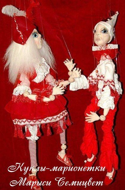 Theatrical dolls from Marysia Semitsvet - http://arthandmade.net/marisya.semicvet Doll, puppet, marionette, theatrical doll, puppet show, handmade doll, gift, original gift, craft, handmade, collection, Gallery Magical World, кукла, купить куклу, коллекционная кукла, интерьерная кукла, кукла ручной работы, подарок, оригинальный подарок, коллекция, ручная работа, Галерея Волшебный мир