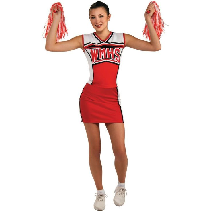 Glee Cheerios Cheerleader Halloween Costume for Teen Girls
