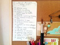Летний манифест: список дел на лето | Summer Manifesto: to do list for summer