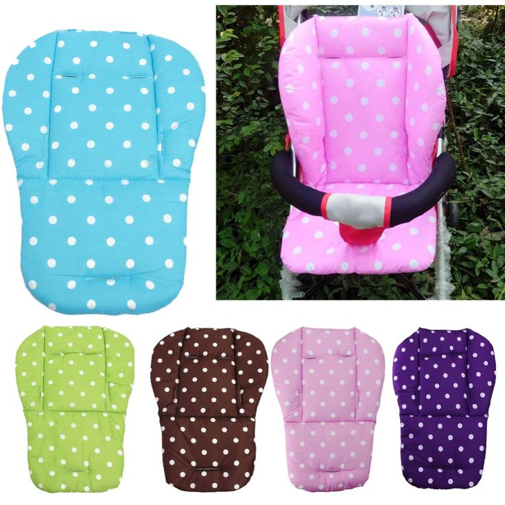 Baby Infant Stroller Seat Pushchair Cushion Cotton Mat White Dot Seat Cushion Free Shipping #>=#>=#>=#>=#> Click on the pin to check out discount price, color, size, shipping, etc. Save and like it!