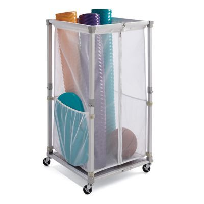 Collapsible Storage Cart Perfect For Pool Toys For The Home Pinterest Storage Cart