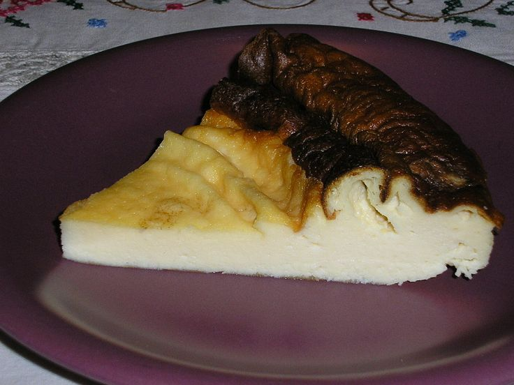 Tarta de queso al horno super fácil | Cocinar en casa es facilisimo.com
