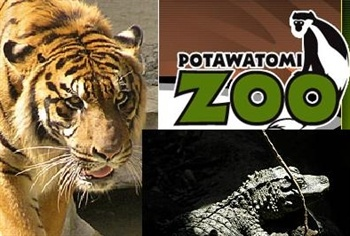 Potawatomi Zoo - South Bend, Indiana  Indiana's oldest zoo