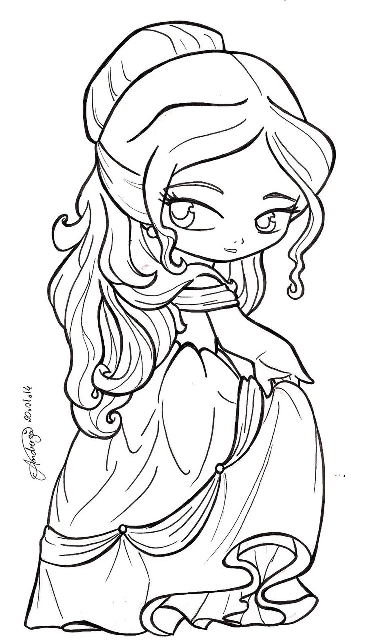 Disney Beauty And The Beast - Belle by TifaYuy on deviantART