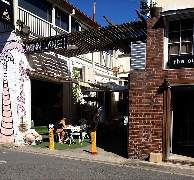 Flamingo Cafe, Winn Lane, Fortitude Valley