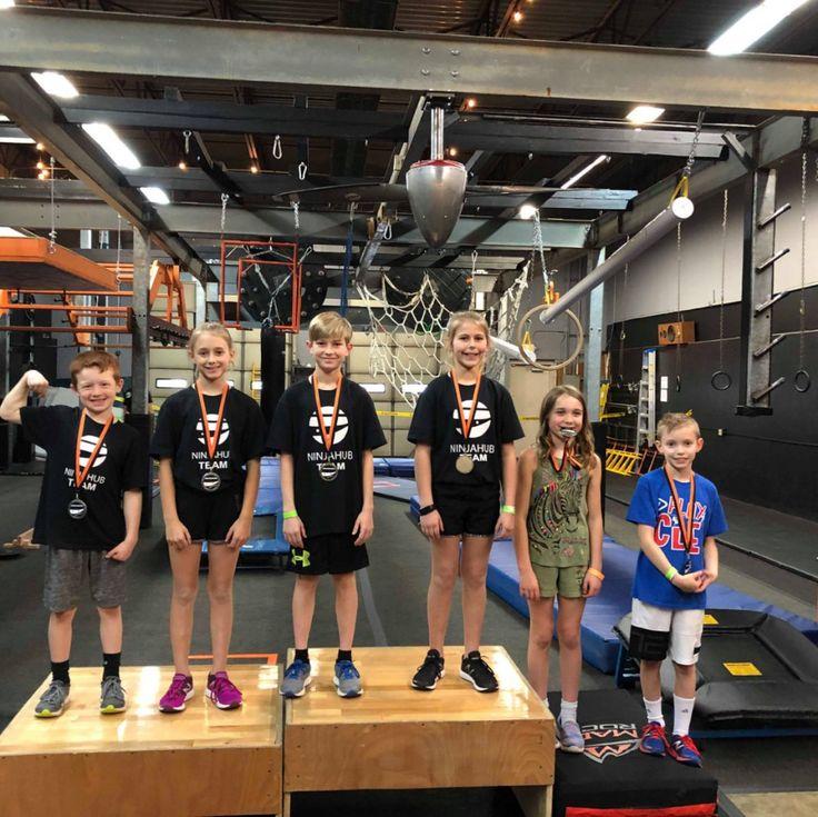 Comp (With images) Ninja warrior gym, Kids gym, American