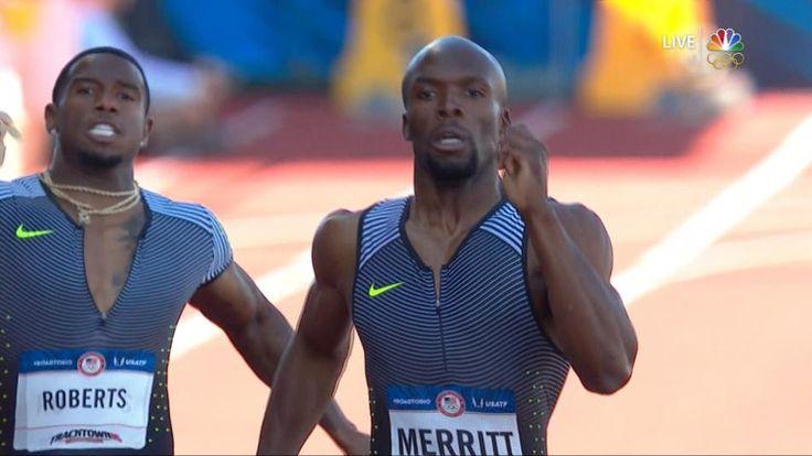 Olympic Trials: LaShawn Merritt wins 400m final in 43.97
