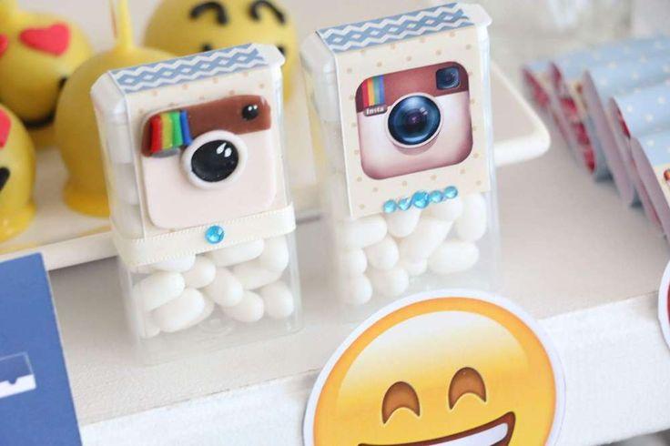 Instagram Birthday Party Ideas | Photo 1 of 31 | Catch My Party