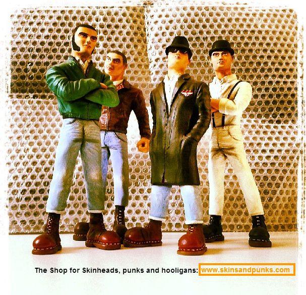 The Skinhead Gang Rem Great Sculptures Www Skinsandpunks