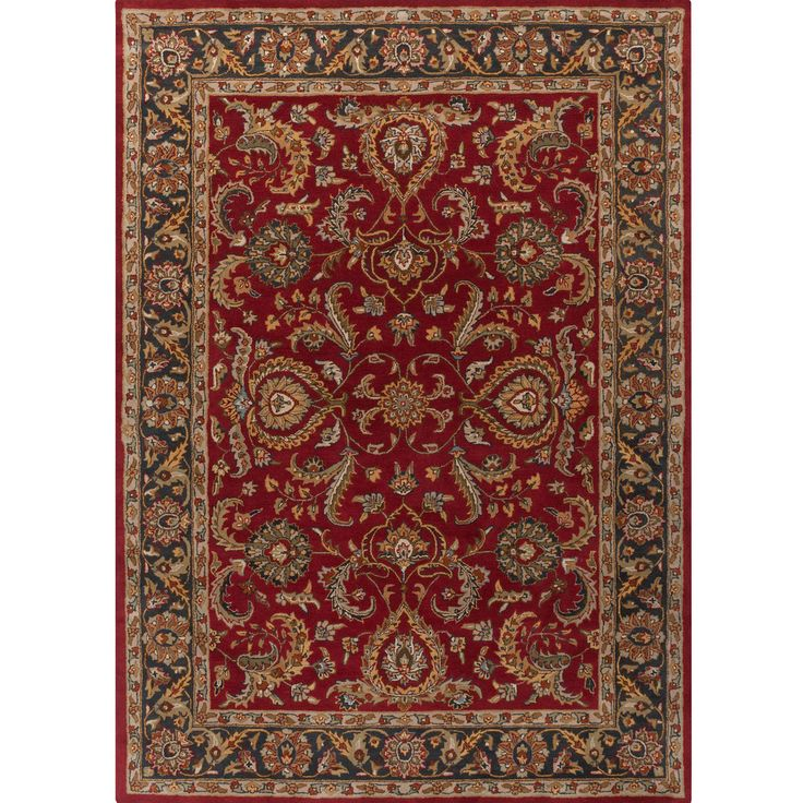 Safavieh Pl537a Persian Legend Wool Hand Tufted Rust Navy: 60 Best Rugs Images On Pinterest