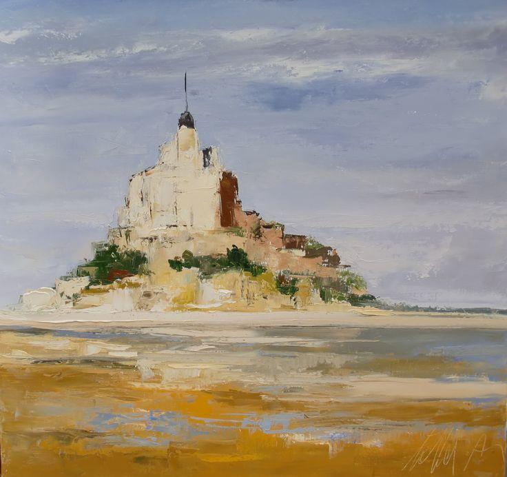 La journ e poudr e paysages tollet anne marie peintures l 39 huile pinterest - Pinterest peinture a l huile ...