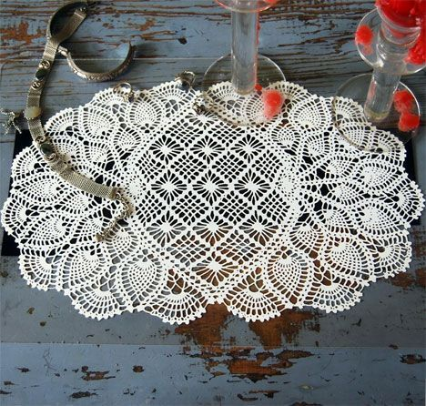 free crochet patterns to print | Free Crochet Angel Doily Pattern | Crochet Guild