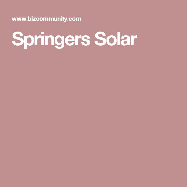 Springers Solar