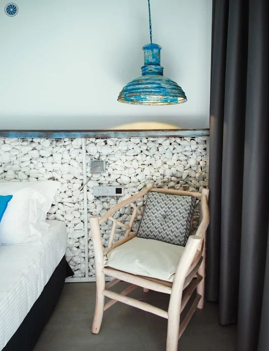 Explore every little detail at #Elakati and live the #elakatiexperience ! The room in the photo is #Faros  #travel #Rhodes #Greece www.elakati.com