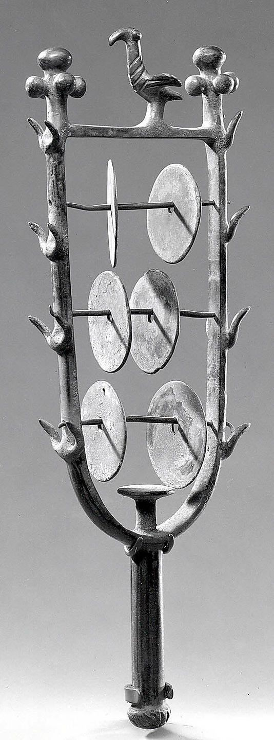 Sistrum (rattle) Period: Early Bronze Age III Date: ca. 2300–2030 BC