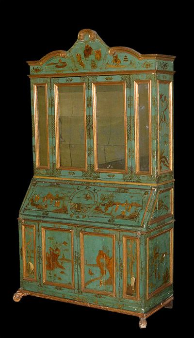 Italian, Baroque period, chinoiserie, painted and parcel-gilt secretaire  bookcase: Early · Lacquer FurnitureBlack FurnitureAntique ... - 32 Best Black Lacquer Furniture, Japanned Furniture, Black