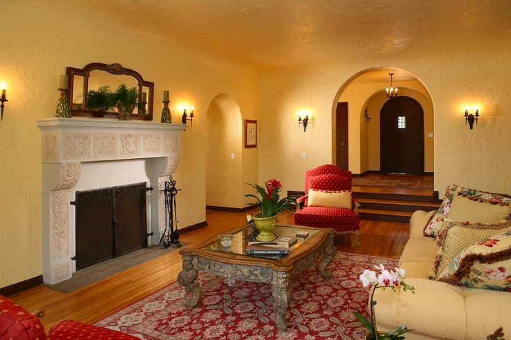 Living Room In Spanish Entrancing Decorating Inspiration