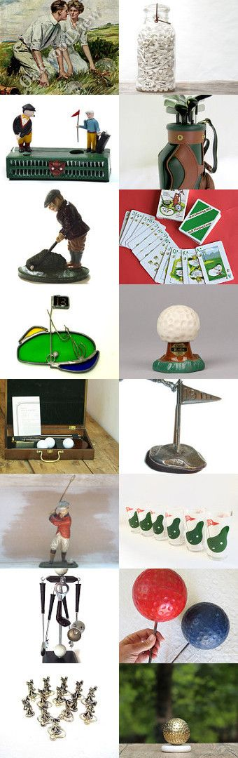 A Treasury for Golf Day ... by Becca and Papa Bunny on Etsy--Pinned+with+TreasuryPin.com