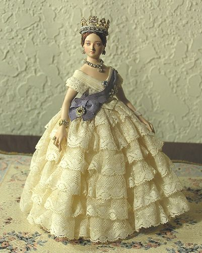 Dollhouse Miniatures Victoria Bc: 81 Best Early Victorian FASHION Dolls Images On Pinterest