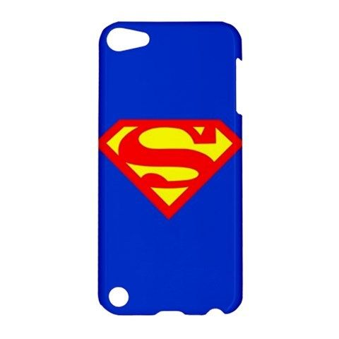 iPod 5 S Superman Man of Steel Logo iPod Touch 5 5G 5th Hardshell Case Cover