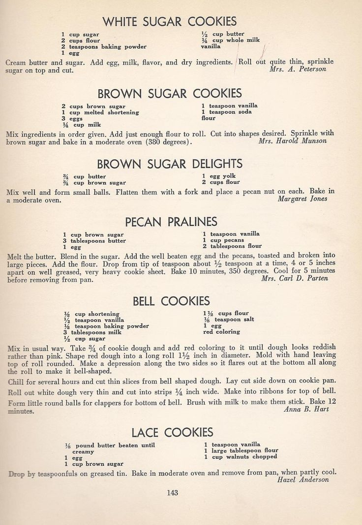 Tom s cookies recipes