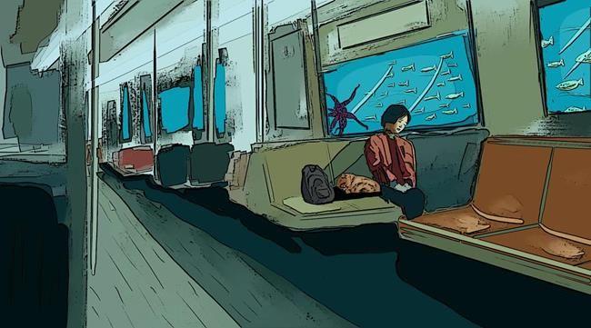 Yağmurun Getirdiği Yalnızlık Hissini Anlatan 15+ İllüstrasyon Sanatlı Bi Blog 7