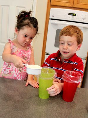 How to make ice cream in a bag,  in a shake! Great instructions super for any age!