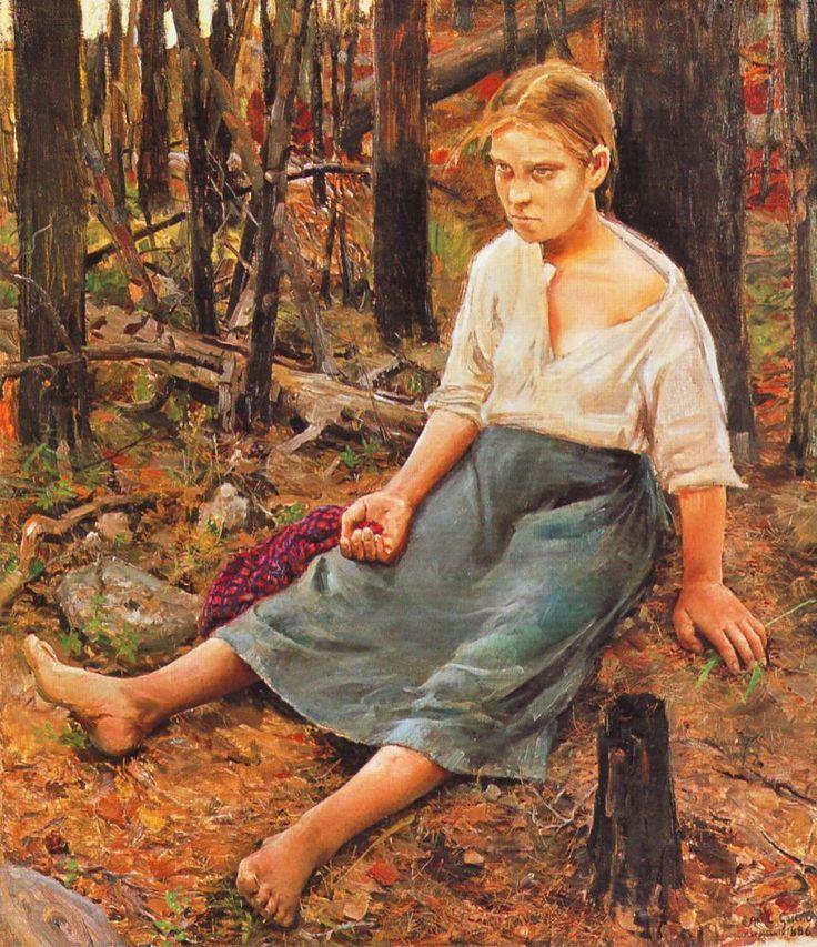 Lost by Akseli Gallen-Kallela
