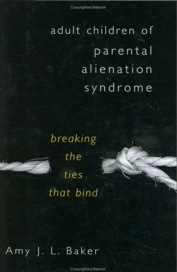 Adult Children of Parental Alienation Syndrome   a must read. I just read this book on my last trip..could not put it down. I gained great insight on how the manipulating parent operates. So sad to read the sort of things they say and do to our children to make themselves feel better or in control:(
