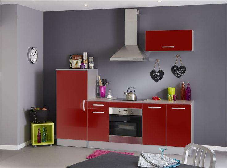 Σύνθεση Κουζίνας Red - Ντουλάπια Κουζίνας - ΚΟΥΖΙΝΑ