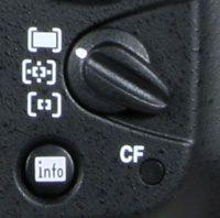 Nikon D700 - AF switch
