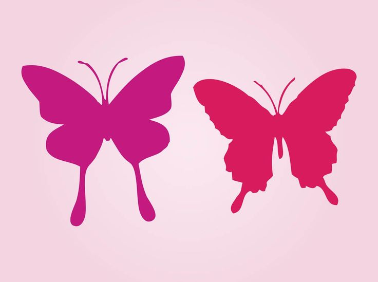 FreeVector-Silhouette-Butterflies.jpg (1024×765)