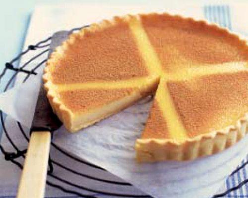 Tarta de natillas - Custard tart