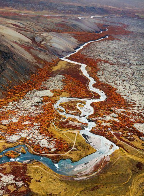 www.traveldiariesapp.com #travel #diary #iceland - What strange colors!