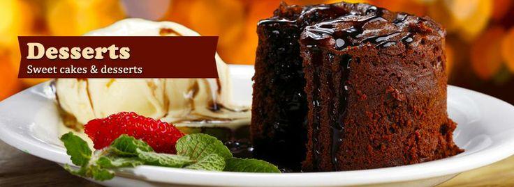 Desserts  @ Trofea Grill Restaurant Budapest