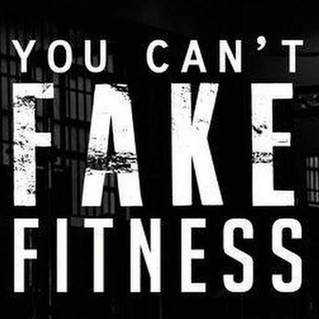 When you see someone going hard in the gym they are doing it with a purpose. You can't fake fitness. You have to earn it. Every drop of sweat, every tear shed, every second, every rep. It all leads up to success. Don't try and fake anything. Always give it your all!