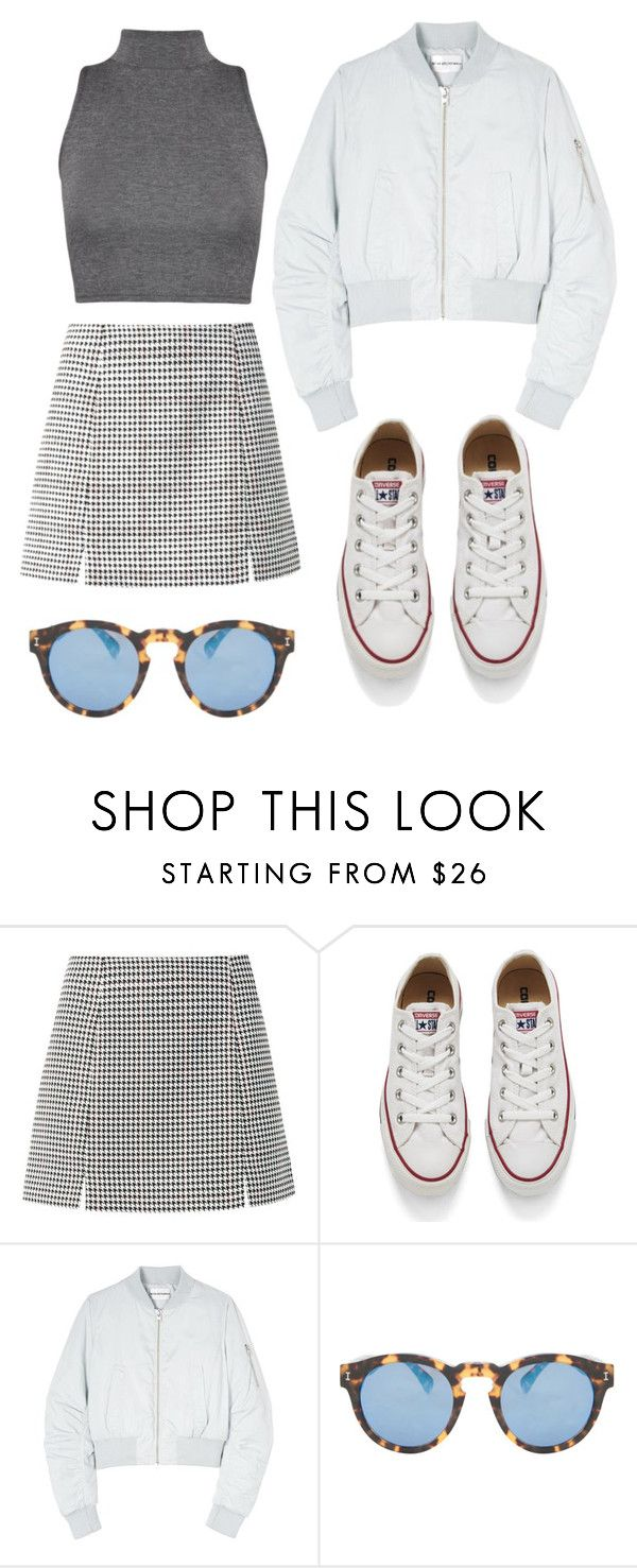"""ADORO"" by keisha-1 ❤ liked on Polyvore featuring Converse, Won Hundred, Illesteva, WearAll, women's clothing, women's fashion, women, female, woman and misses"