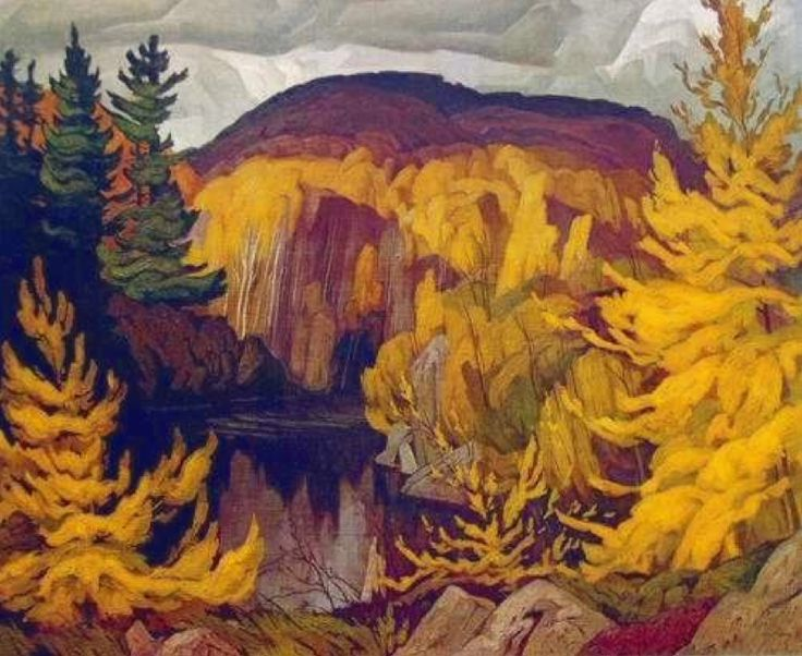 chasingtailfeathers:  A. J. Casson (Canadian 1898 – 1992) Autumn on the York