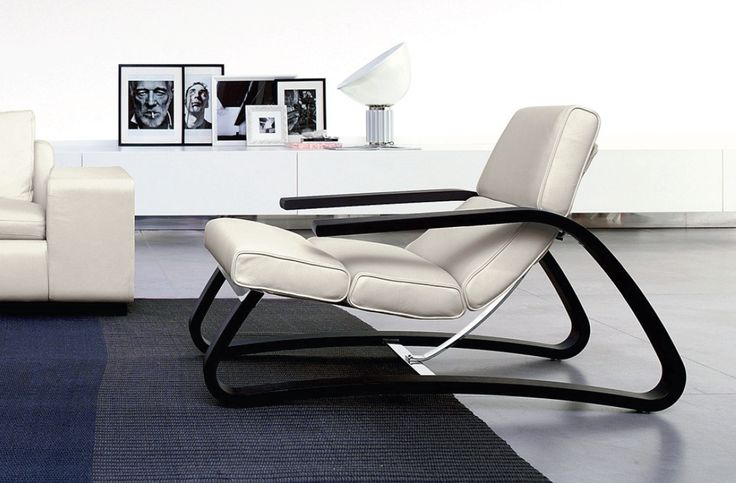 Band chair designed by marconato from contempo italia for Accent chaise lounge