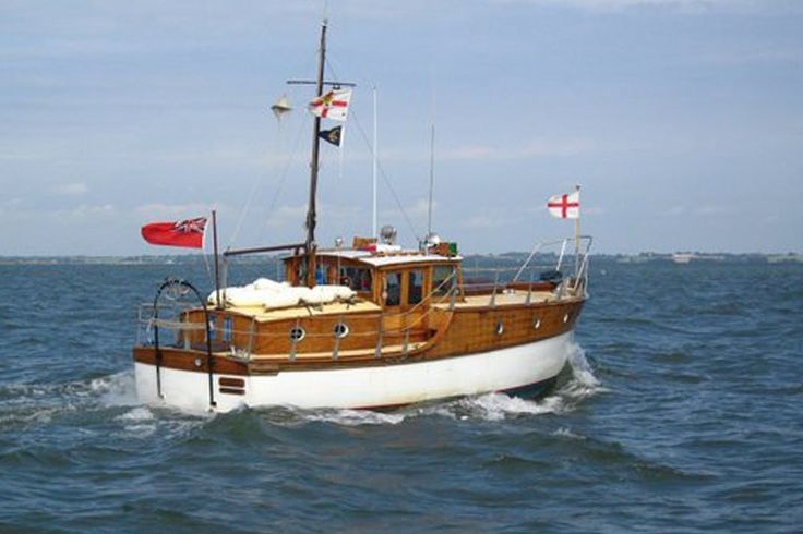 E.F. Elkins Ltd 33' Motor Cruiser Dunkirk 'Little Ship' classic motor cruiser offered for sale. Built in 1936 recently refitted. Offers on £45,000