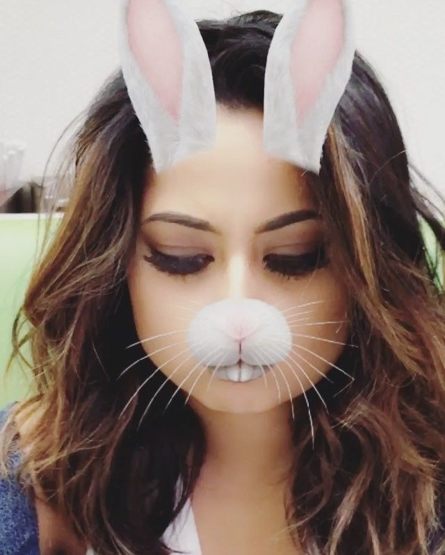 Pin for Later: These Celebrity Snapchat Accounts Are So Hot They May Actually Steam Up Your Phone Screen Becky G: beckygofficial