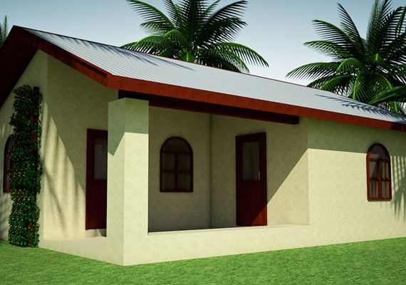 Owen Geiger által tervezett ház bővítve