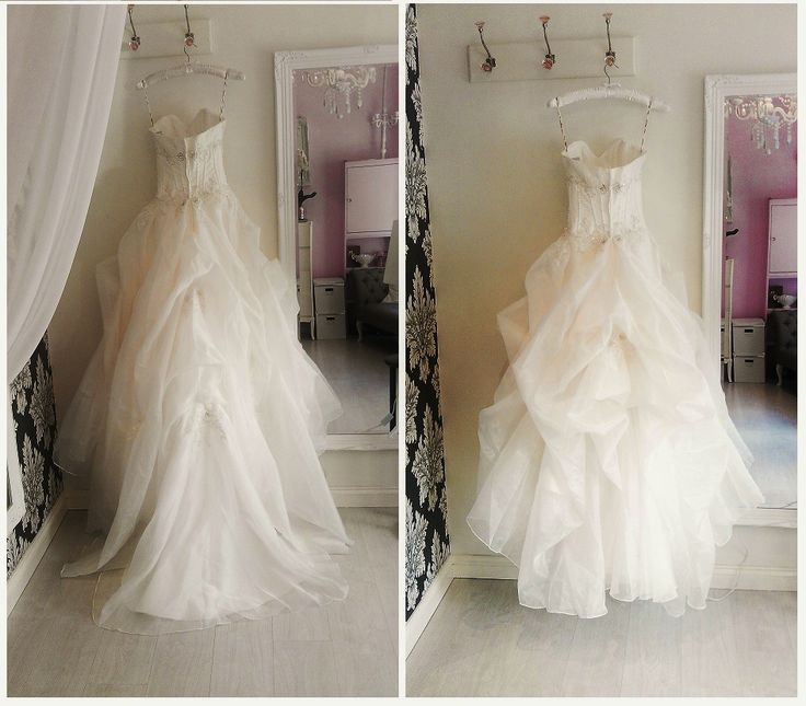 Bustle a wedding dress instructions