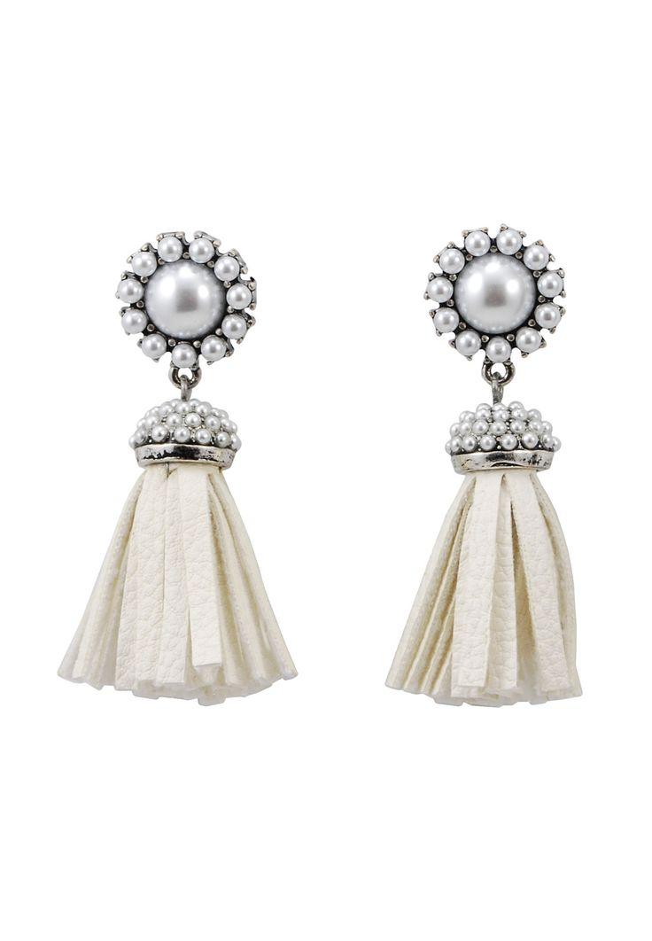 Sasha Silver Fringe Earrings