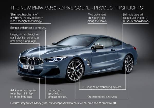 The All New Bmw 8 Series Coupe 06 2018 With Images Bmw New