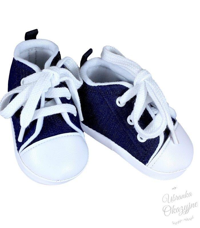 Trampki Niechodki Granatowe Sklep Ubranka Okazyjne Baby Shoes Shoes Fashion