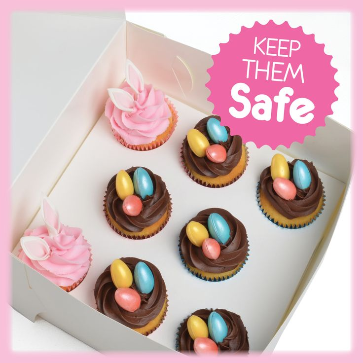 Roberts Cupcake Boxes will keep your precious goods safe & secure.
