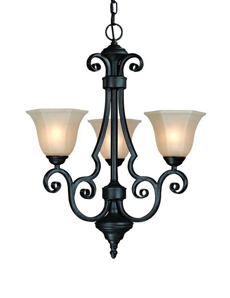 Mejores 57 imgenes de traditional chandeliers en pinterest winston 3 light mini chandelier shown in olde world iron by dolan designs aloadofball Images