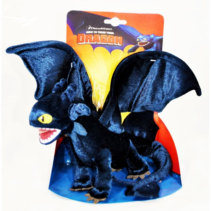 How to train your dragon movie 85 inch plush